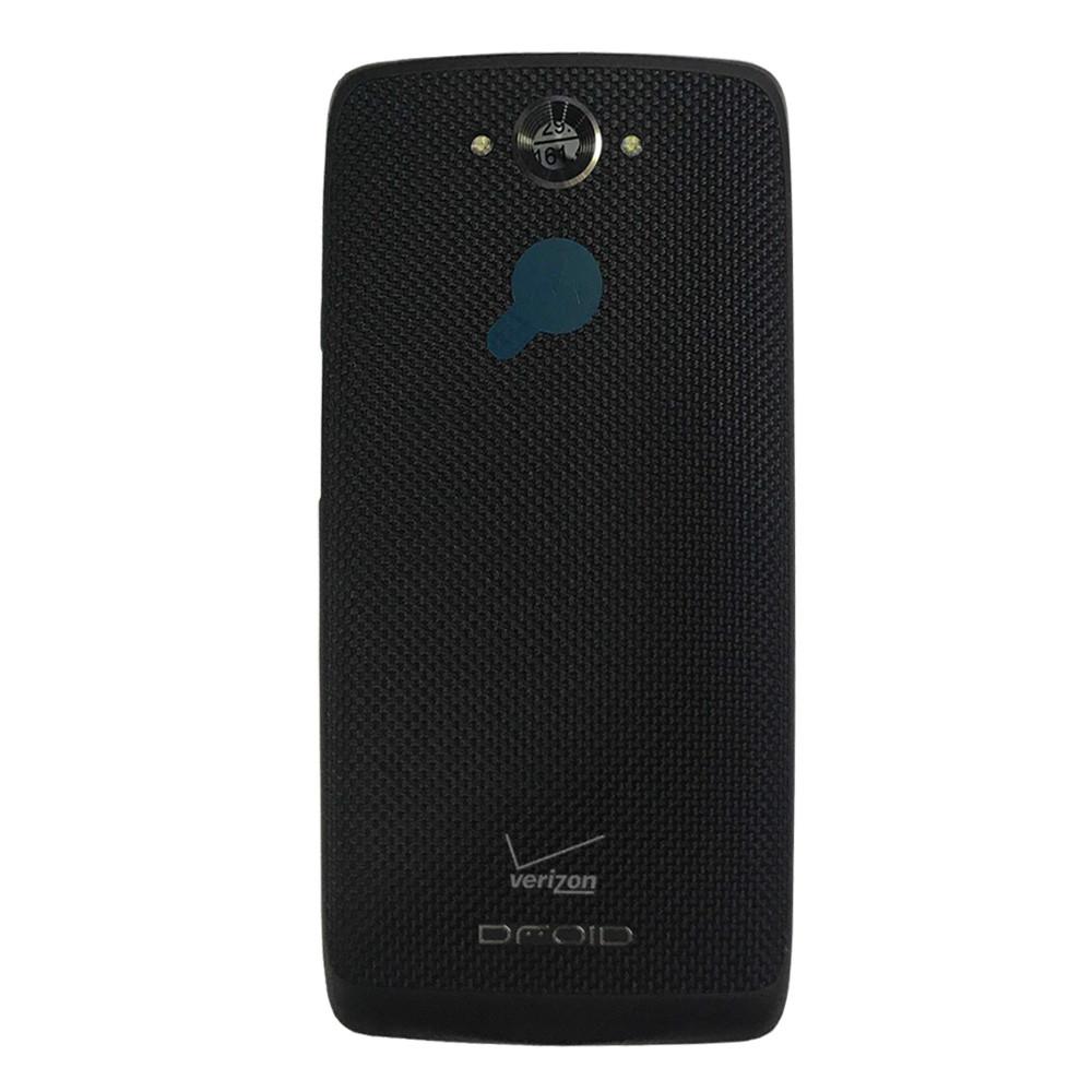 Back Cover for Motorola Droid Turbo XT1254 -Black
