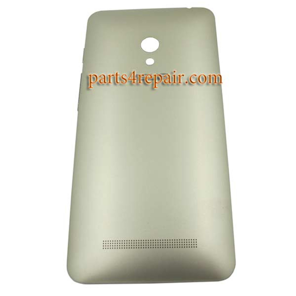 Back Cover with Side Keys for Asus Zenfone 5 A500KL -Gold