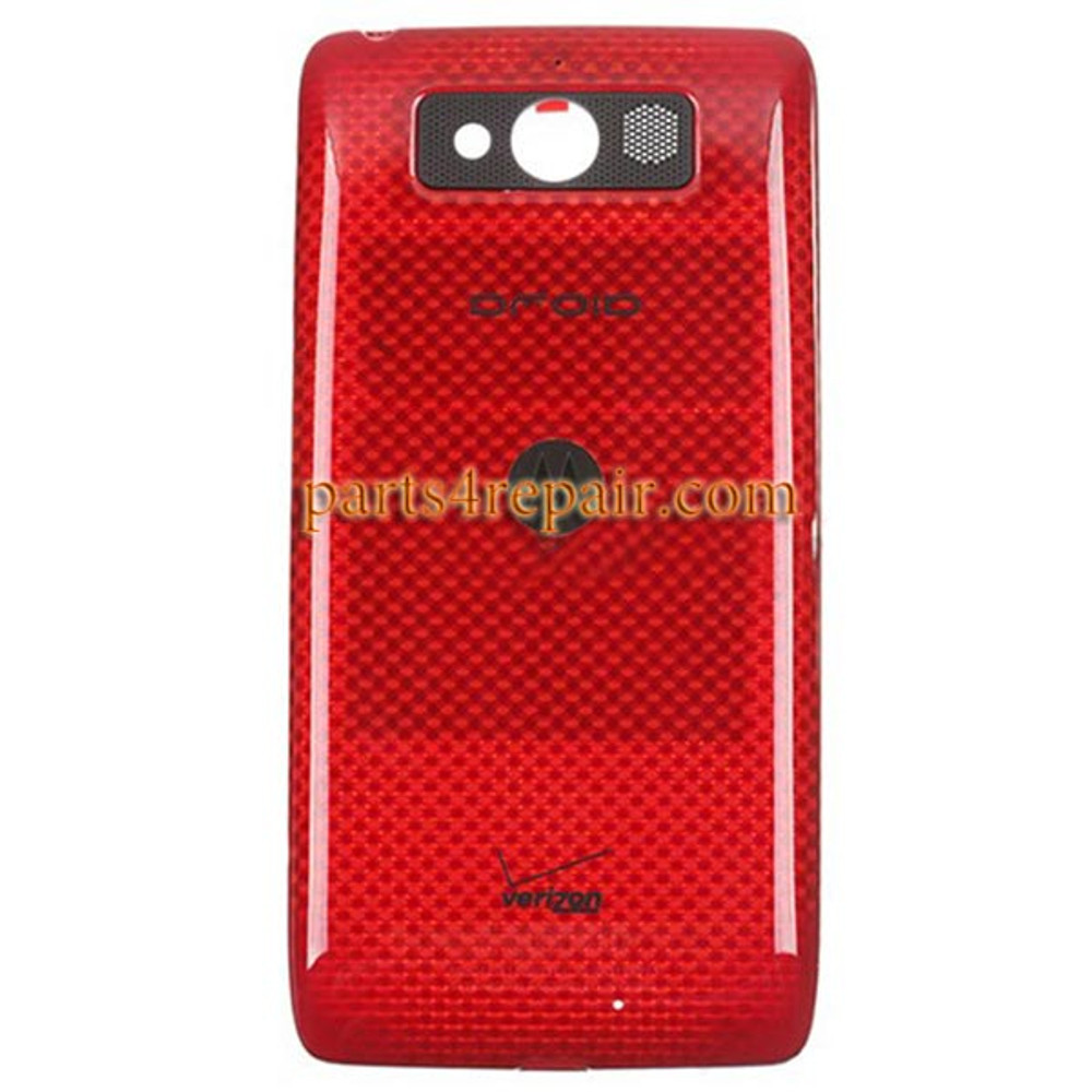 Back Housing Cover for Motorola DROID mini XT1030 -Red