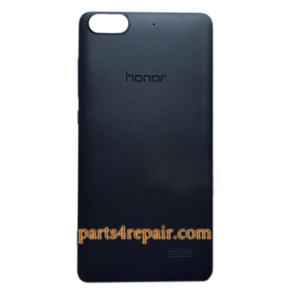 Back Cover with Side Keys for Huawei Honor 4C -Black