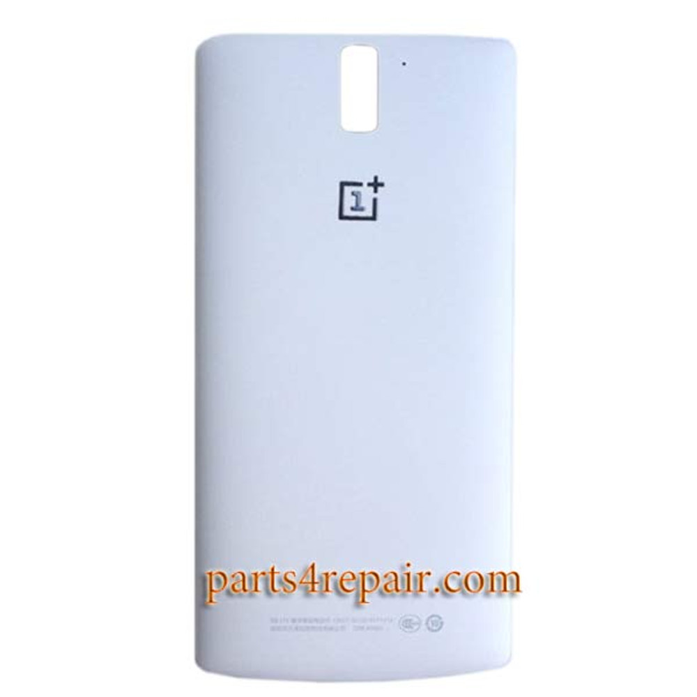 Back Cover for OnePlus One -White