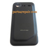 HTC Incredible S Back Cover Black from www.parts4repair.com