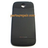 Back Cover for HTC One S -Black