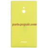 Back Cover for Nokia XL -Yellow from www.parts4repair.com