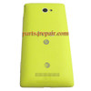 Back Cover for HTC Windows Phone 8X (AT&T Version)-Yellow from www.parts4repair.com