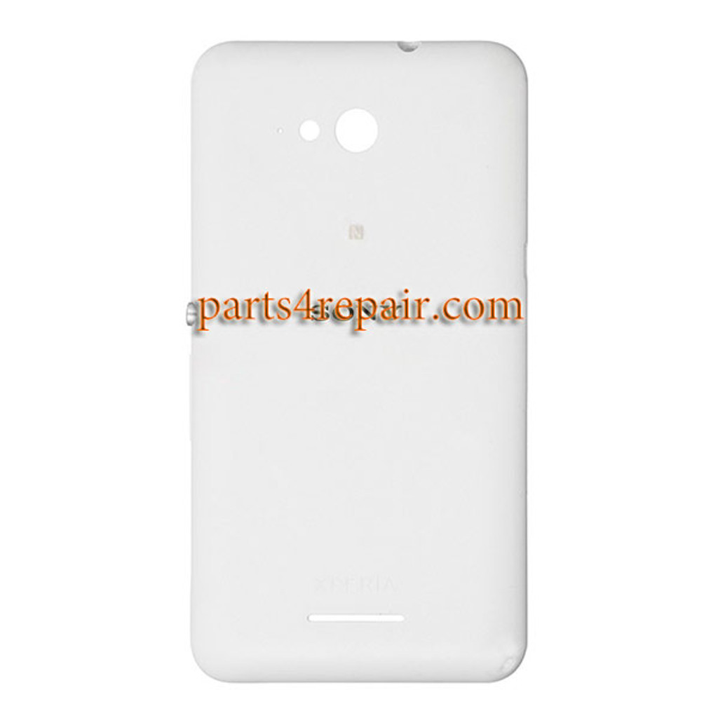Back Cover with Side Keys for Sony Xperia E4g from www.parts4repair.com
