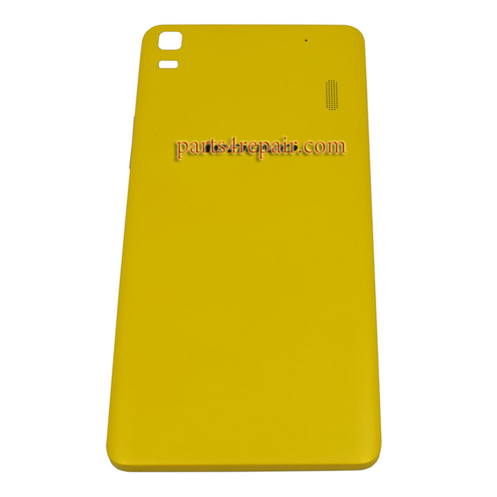 wholesale dealer 385b1 6c825 Back Cover with Side Keys for Lenovo K3 Note (K50-T5) -Yellow