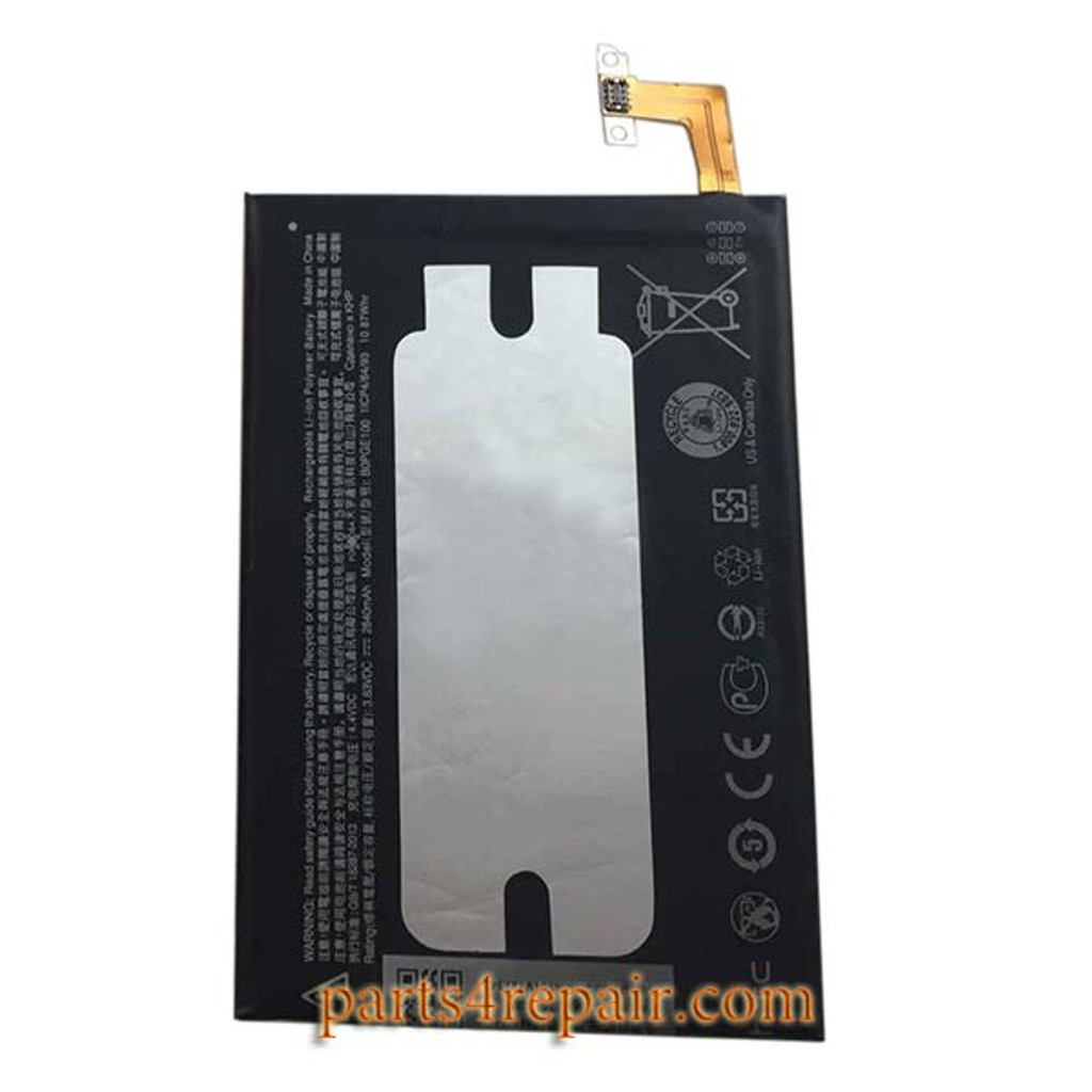 BOPGE100 Built-in Battery 2840mAh for HTC One M9 from www.parts4repair.com