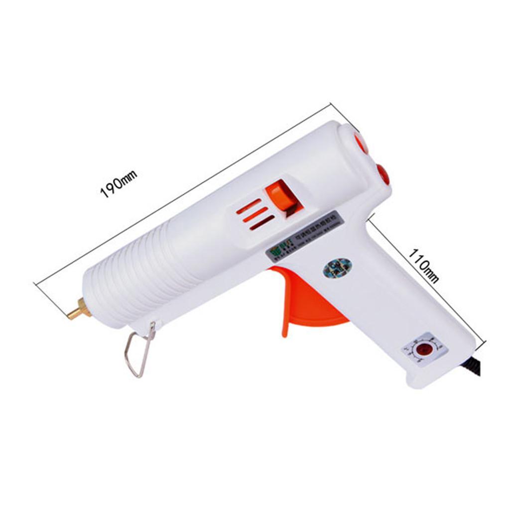 BST-B-F 100W Hot Melt Mini Glue Gun with 5pcs 11mm Glue Sticks