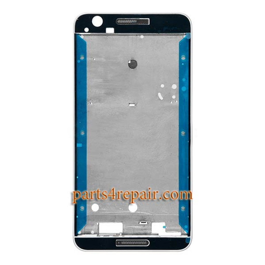 huge selection of 444f1 d029b Front Housing Cover for HTC Desire 728 Dual SIM -White