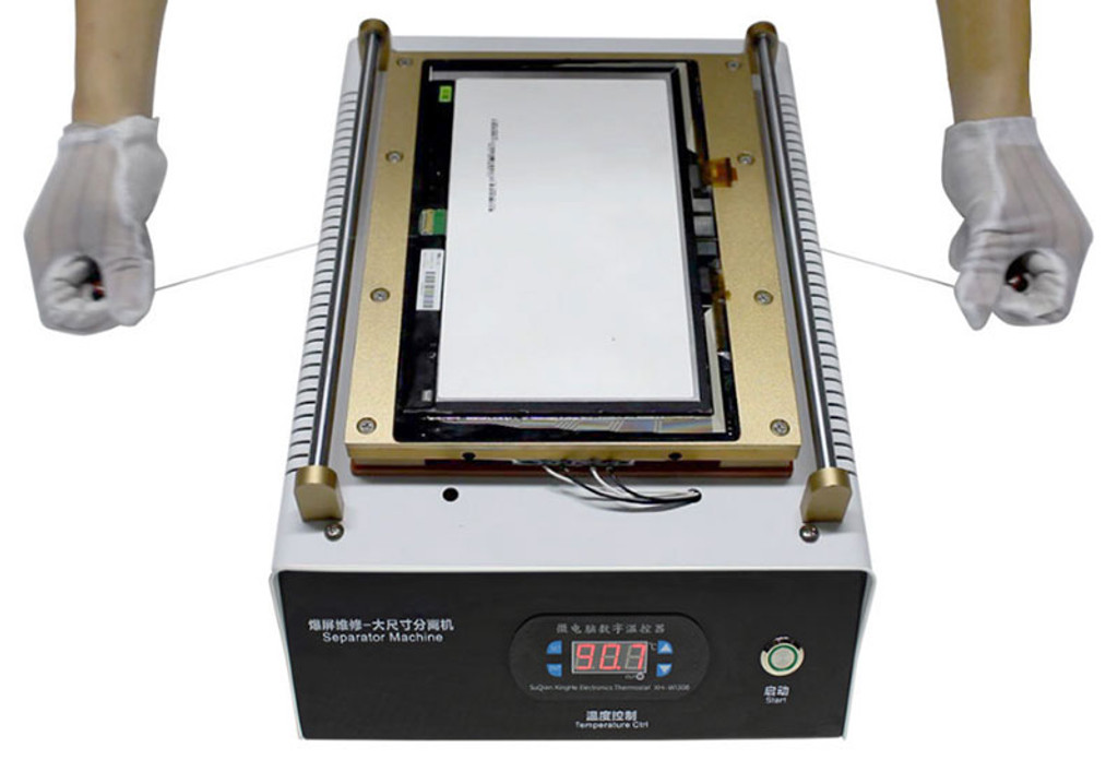 "15"" LCD Separator Machine Built-in Vacuum Pump with USB Charging for iPad & Tablet & Mobile Phone Screen Repair"