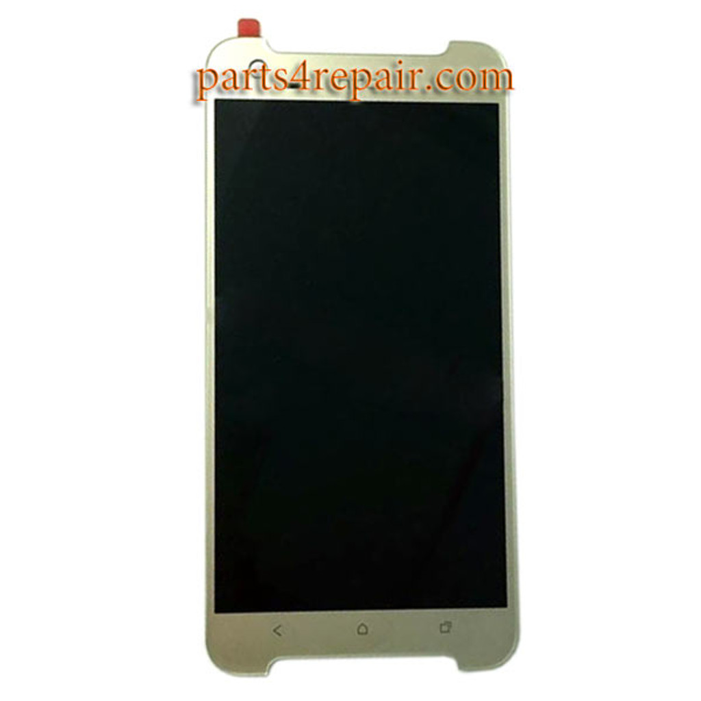 Complete Screen Assembly for HTC One X9 -Gold