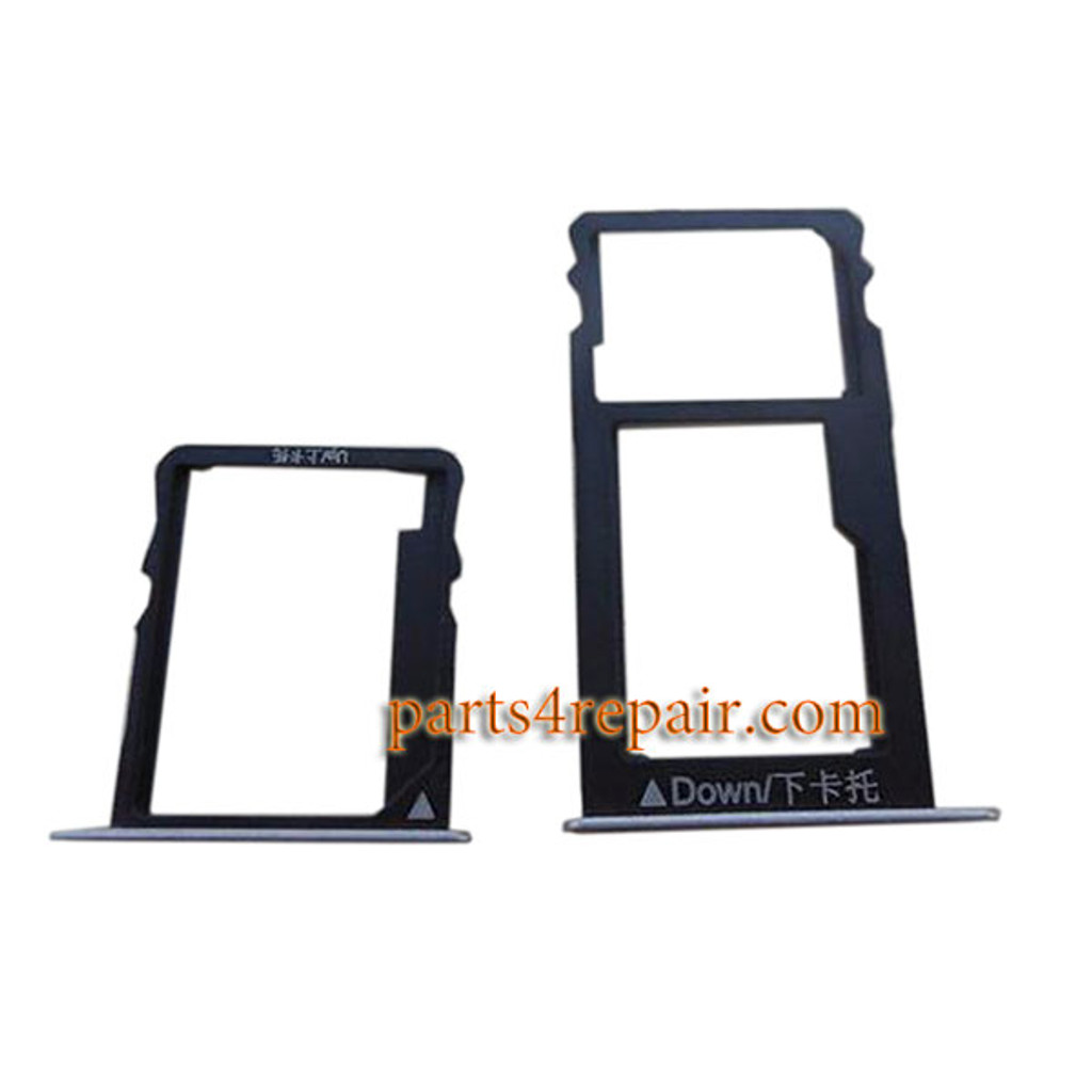 A Pair SIM Tray for Huawei Honor 5X from www.partsp4repair.com