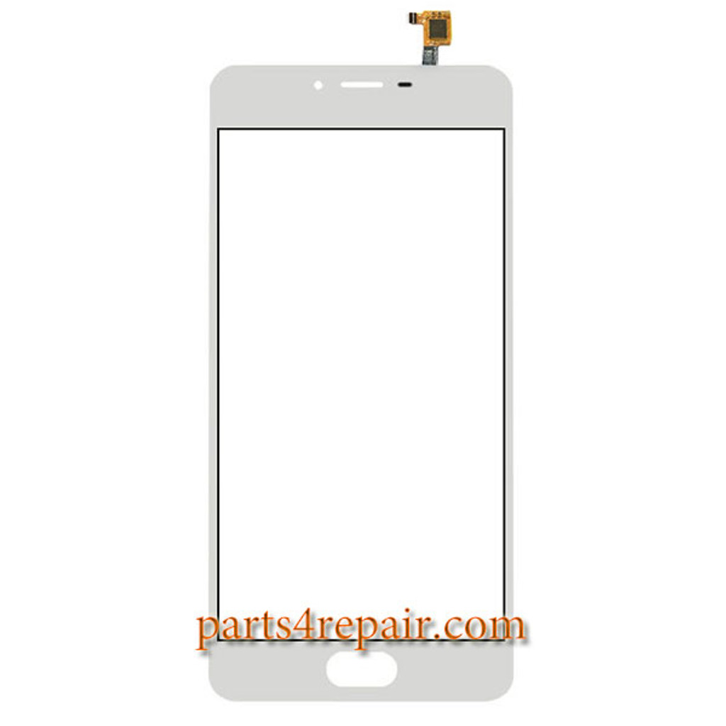 Touch Screen Digitizer for Meizu m3s -White