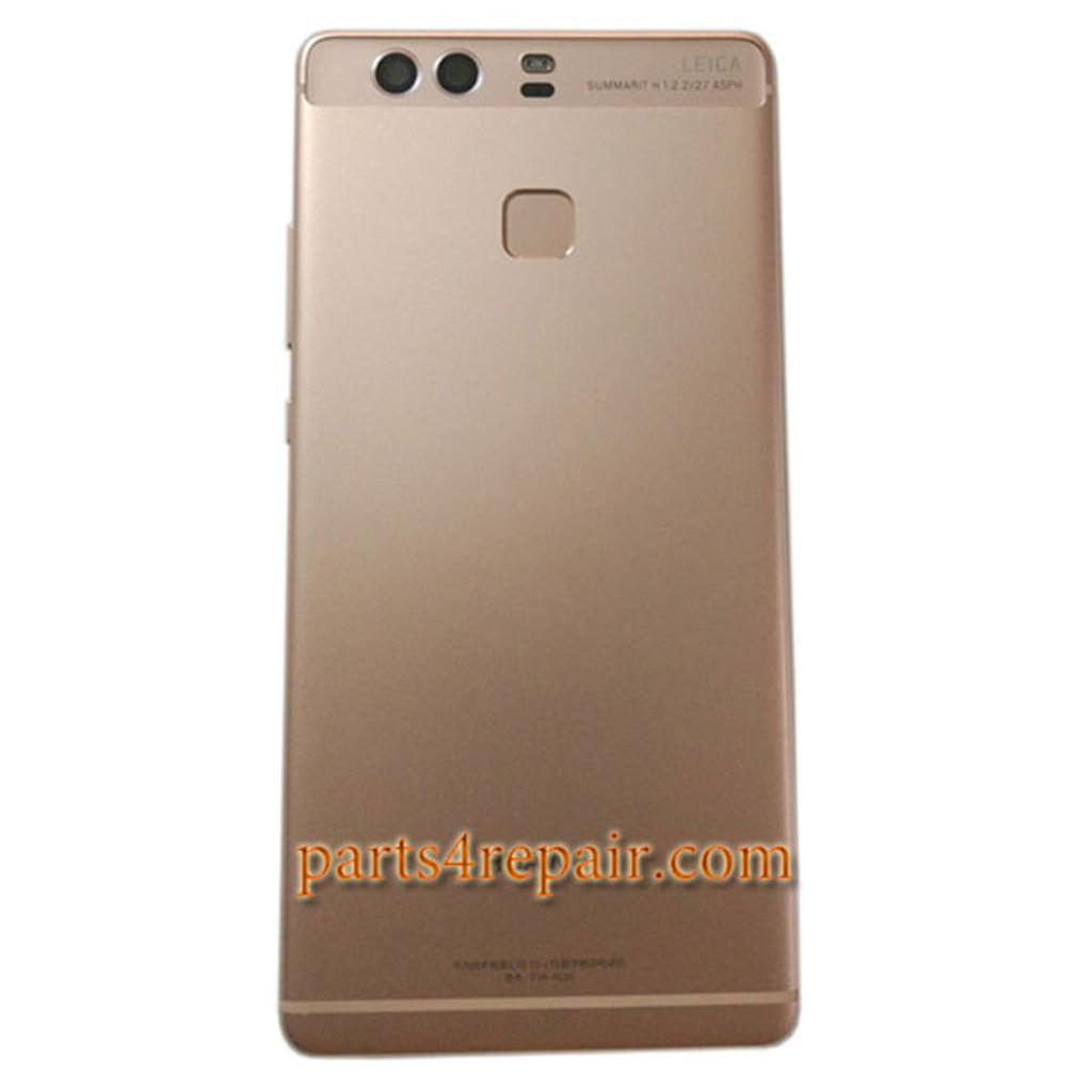 Rear Housing Cover with Fingerprint Sensor Flex Cable for Huawei P9 Plus
