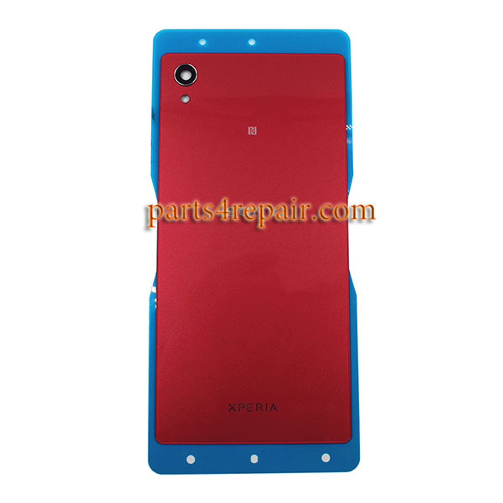 reputable site 9ecdb b8d74 Back Cover with NFC for Sony Xperia M4 Aqua -Red