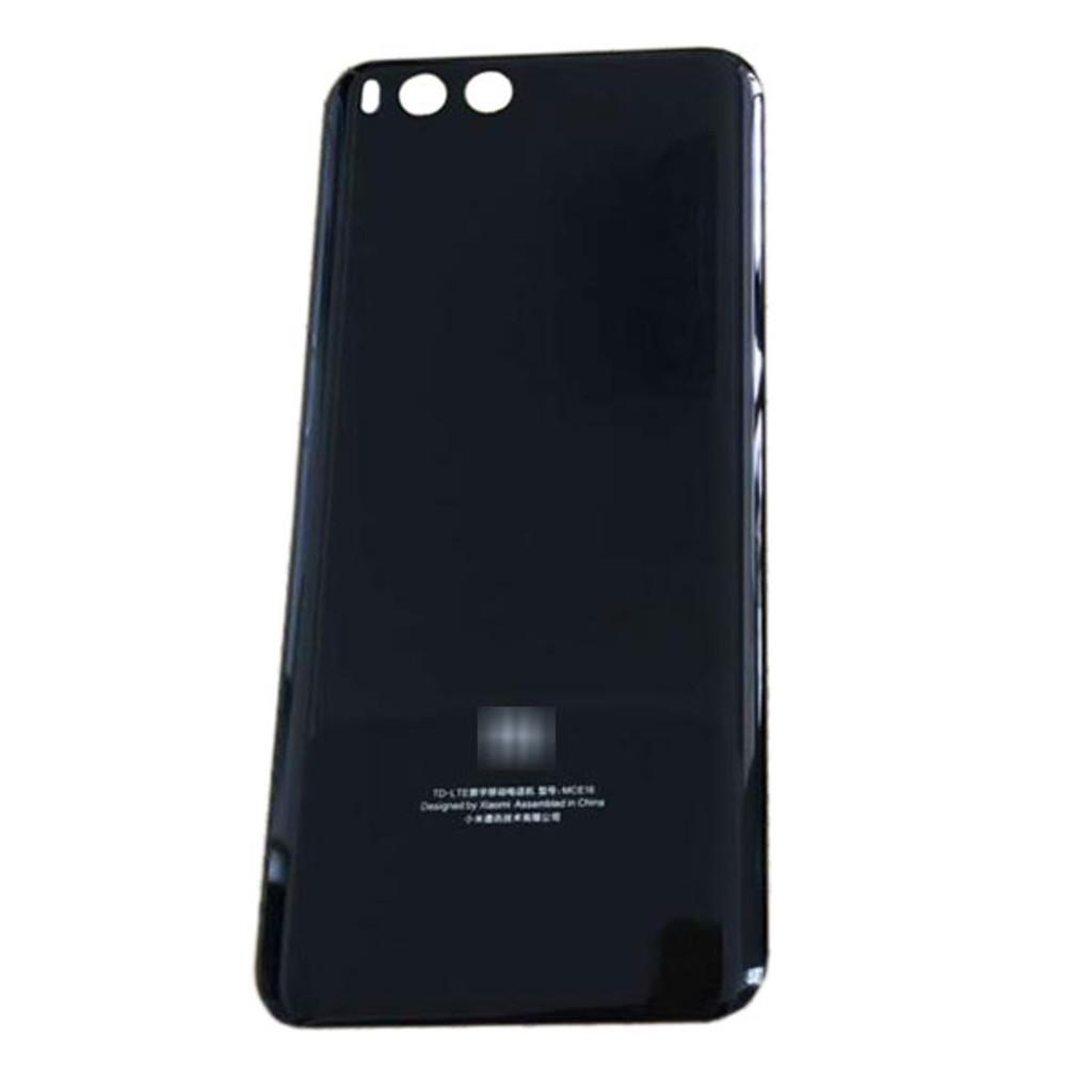 best service 98062 3b06d Back Glass Cover for Xiaomi Mi 6 -Black