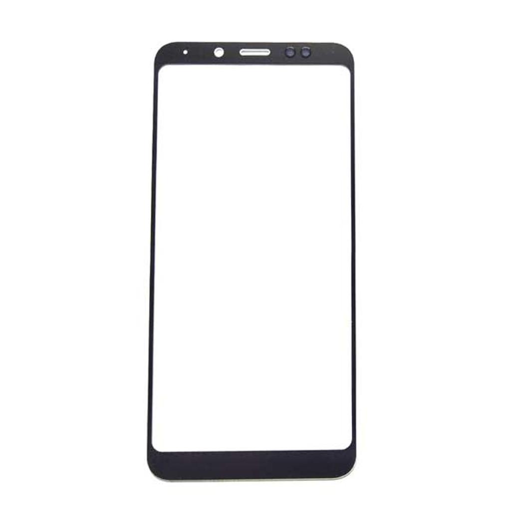Front Glass for Xiaomi Redmi Note 5 (Redmi 5 Plus) -Black