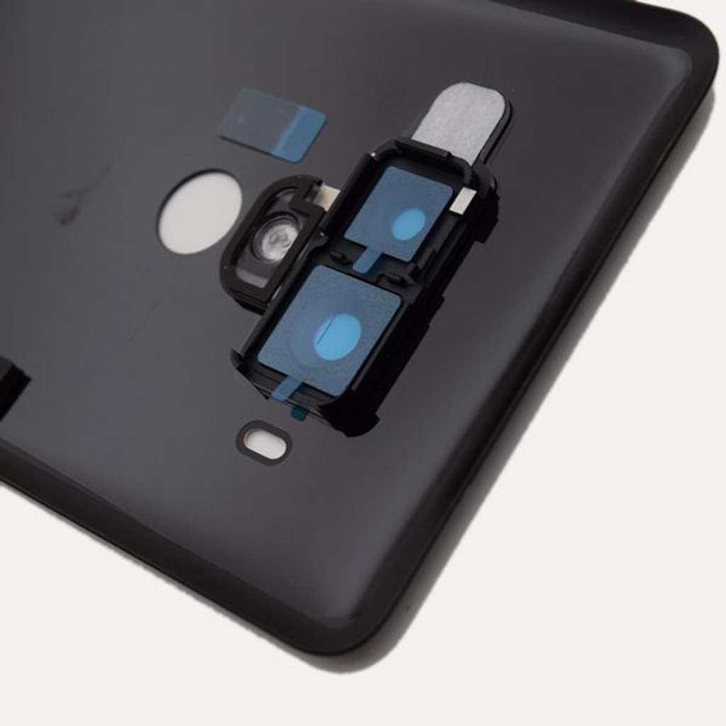Back Housing Cover with Camera Lens for Huawei U12+ -Black