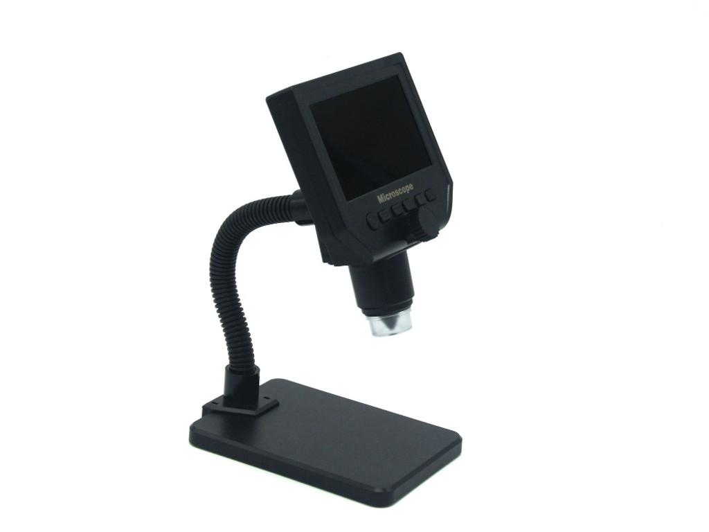 "600X Portable Digital Microscope with 4.3"" Display"