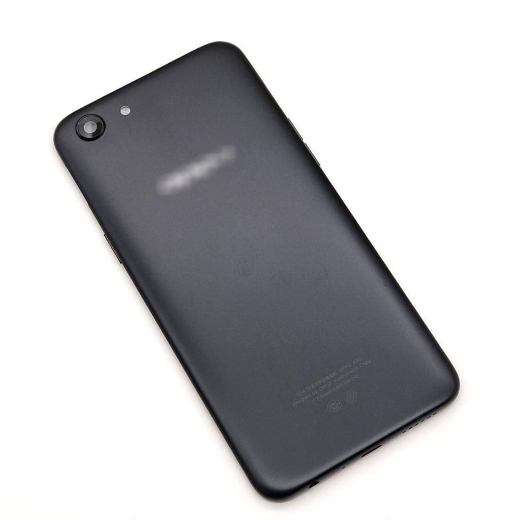 Oppo A83 Back Housing with Camera Lens Side Keys -Black