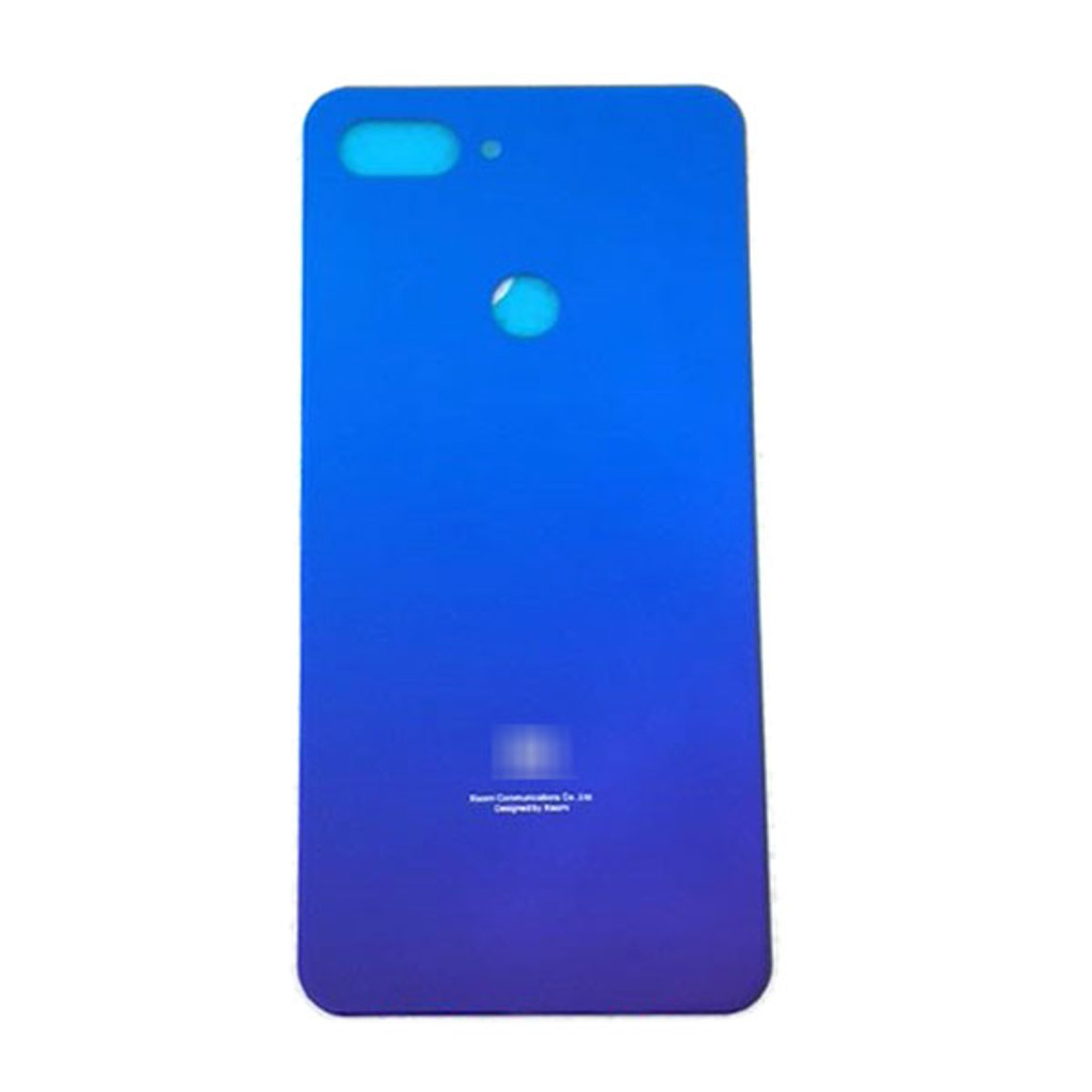 Xiaomi Mi 8 Lite Back Glass Cover with Adhesive from www.parts4repair.com