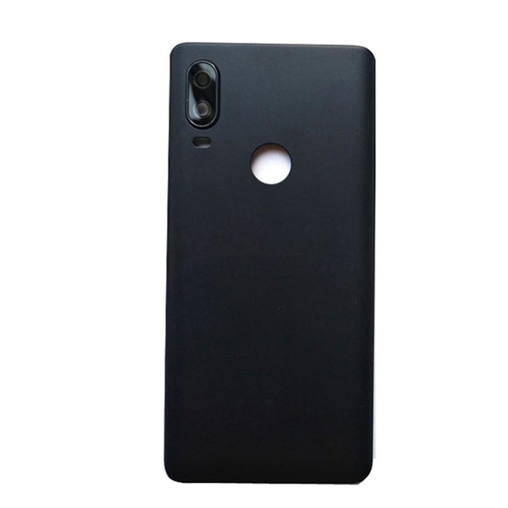 BQ Aquaris X2 Pro Back Glass Cover -Black
