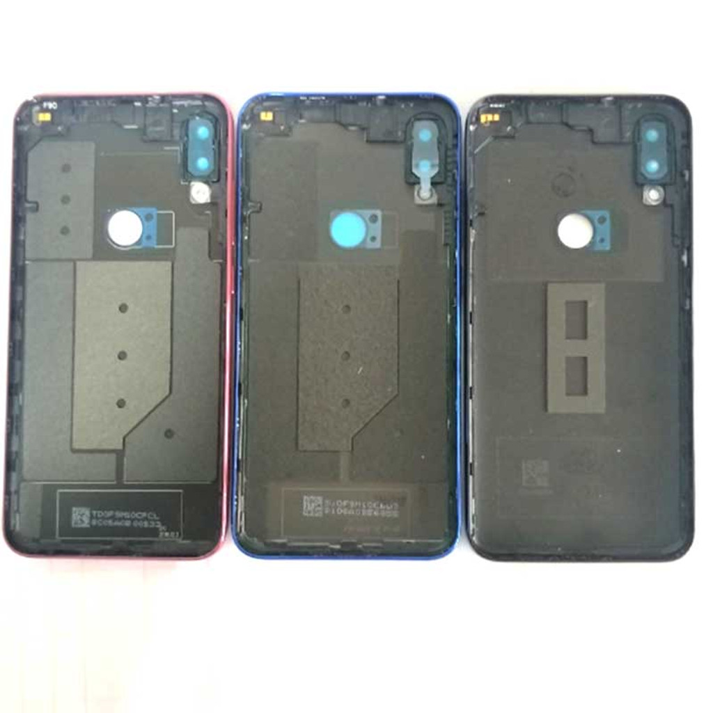 Xiaomi Mi Play Back housing Cover with Camera Lens Red | Parts4Repair.com