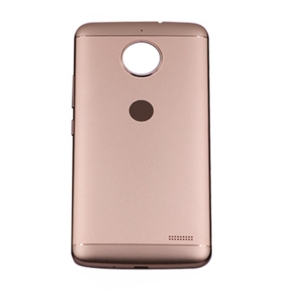 Motorola Moto E4 Back Housing with Side Keys Gold | Parts4Repair.com