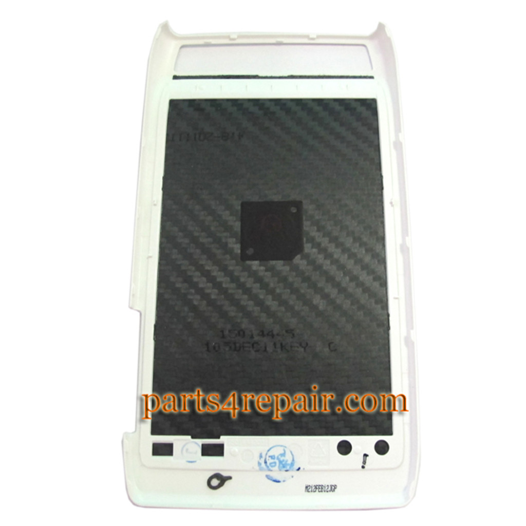 Back Cover for Motorola RAZR XT910 (Thin) -White