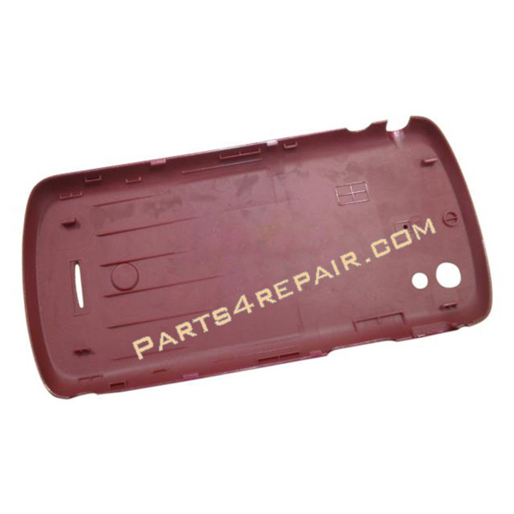 Sony Ericsson Xperia Pro Back Cover -Red from www.parts4repair.com