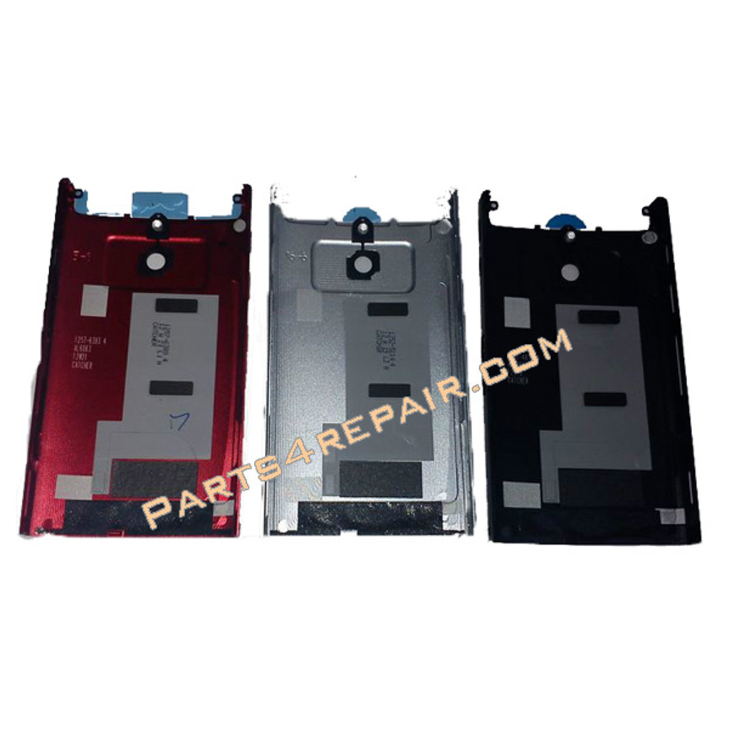 Sony Xperia P Battery Cover -White from www.parts4repair.com