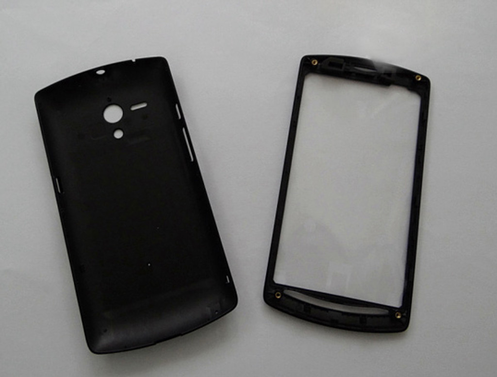 wholesale dealer d6fb7 dec51 Back Cover & Front Cover & Side Keys for Sony Xperia Neo L MT25I -Black