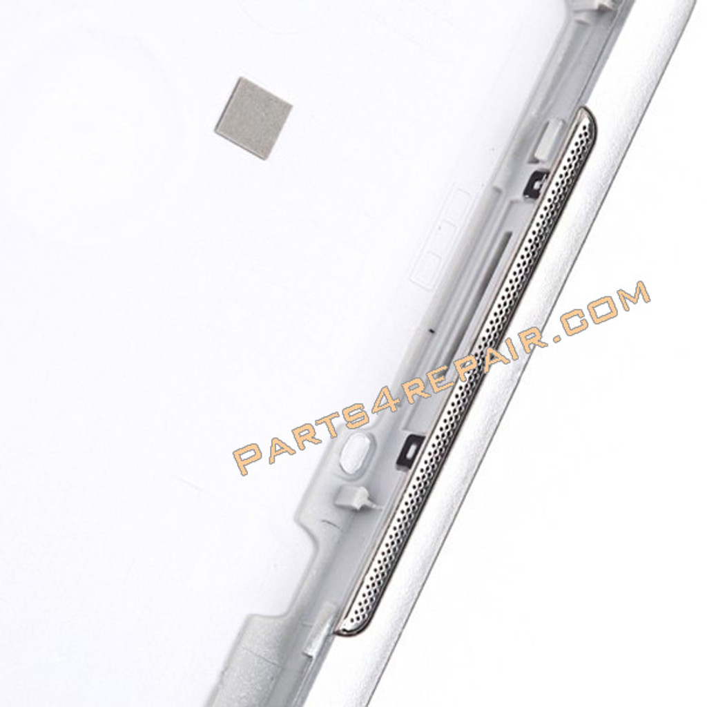 Back Cover with Side Keys for Samsung Galaxy Tab 2 10.1 P5100 -White