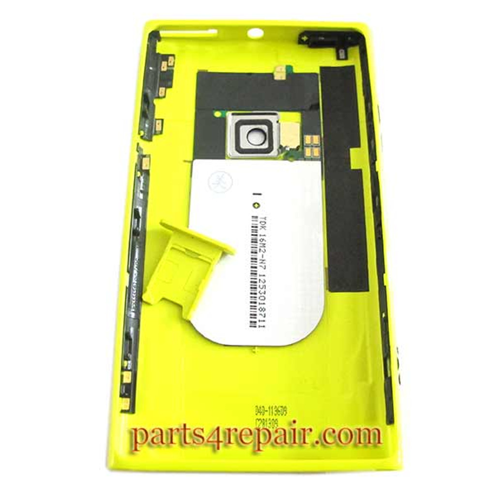 Back Housing Assembly Cover with NFC for Nokia Lumia 920 -Yellow