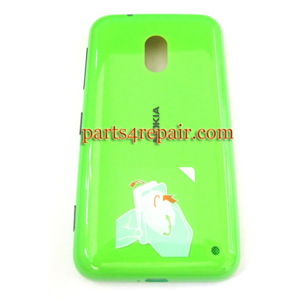 Back Cover for Nokia Lumia 620 -Green from www.parts4repair.com