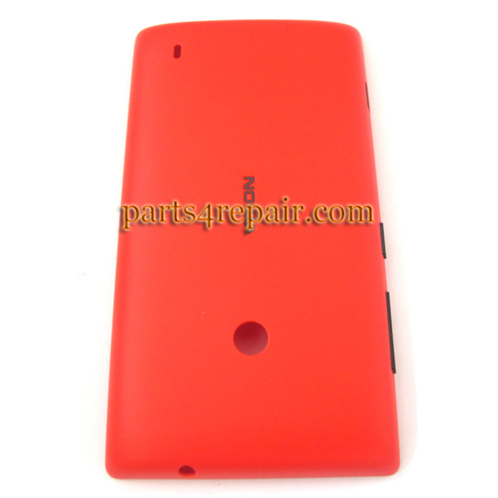 sports shoes 6d359 4fbd2 Back Cover for Nokia Lumia 520 -Red