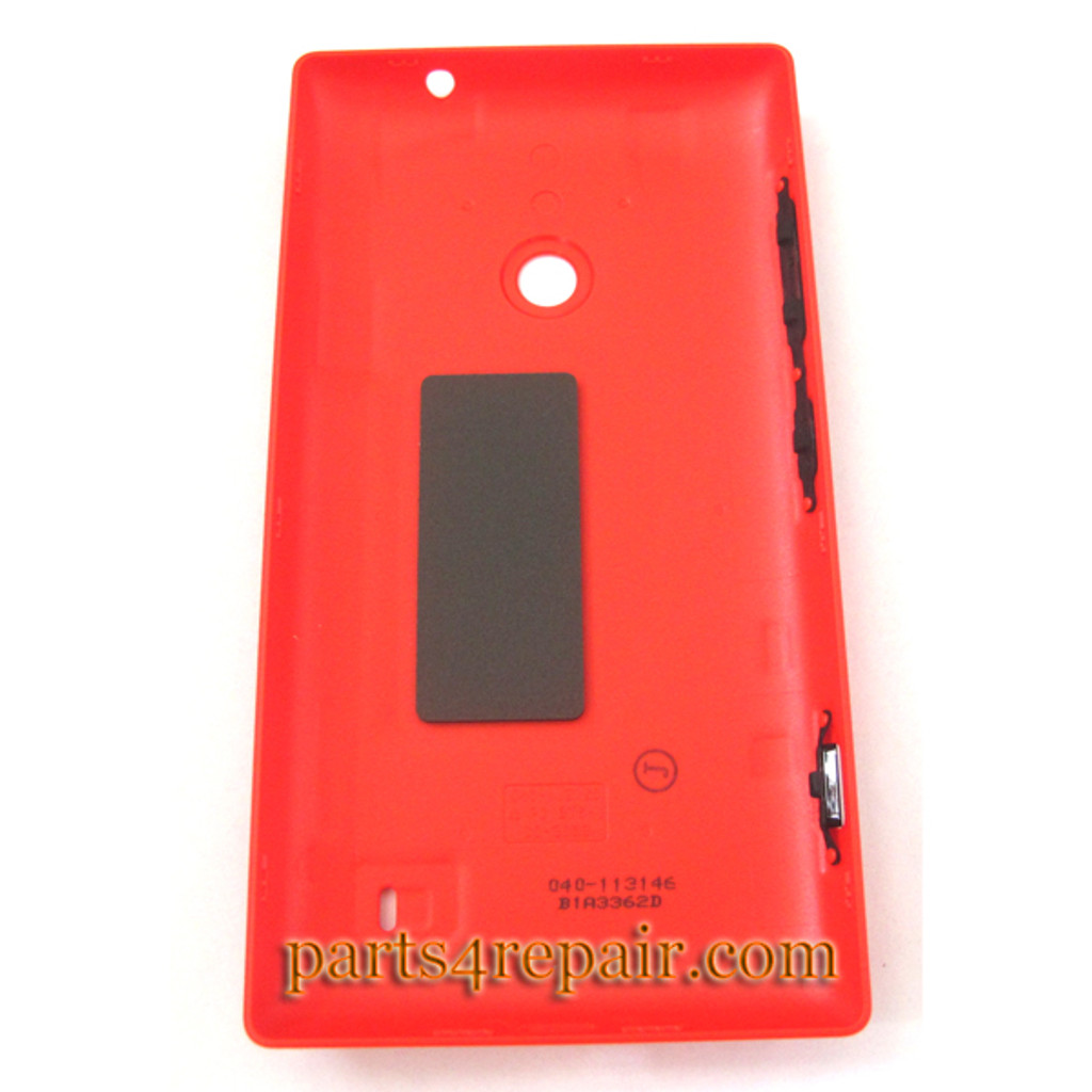 Back Cover for Nokia Lumia 520 -Red