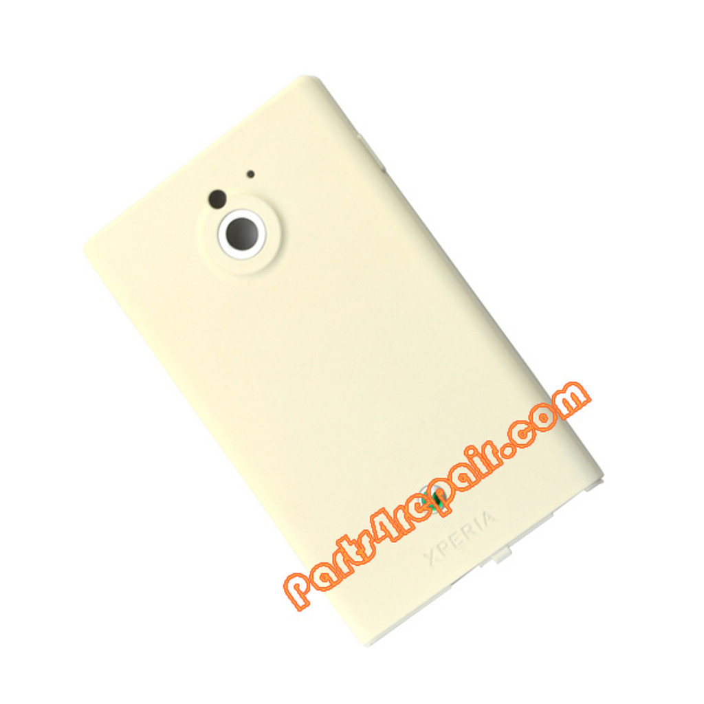 Battery Cover for Sony Xperia Sola -White
