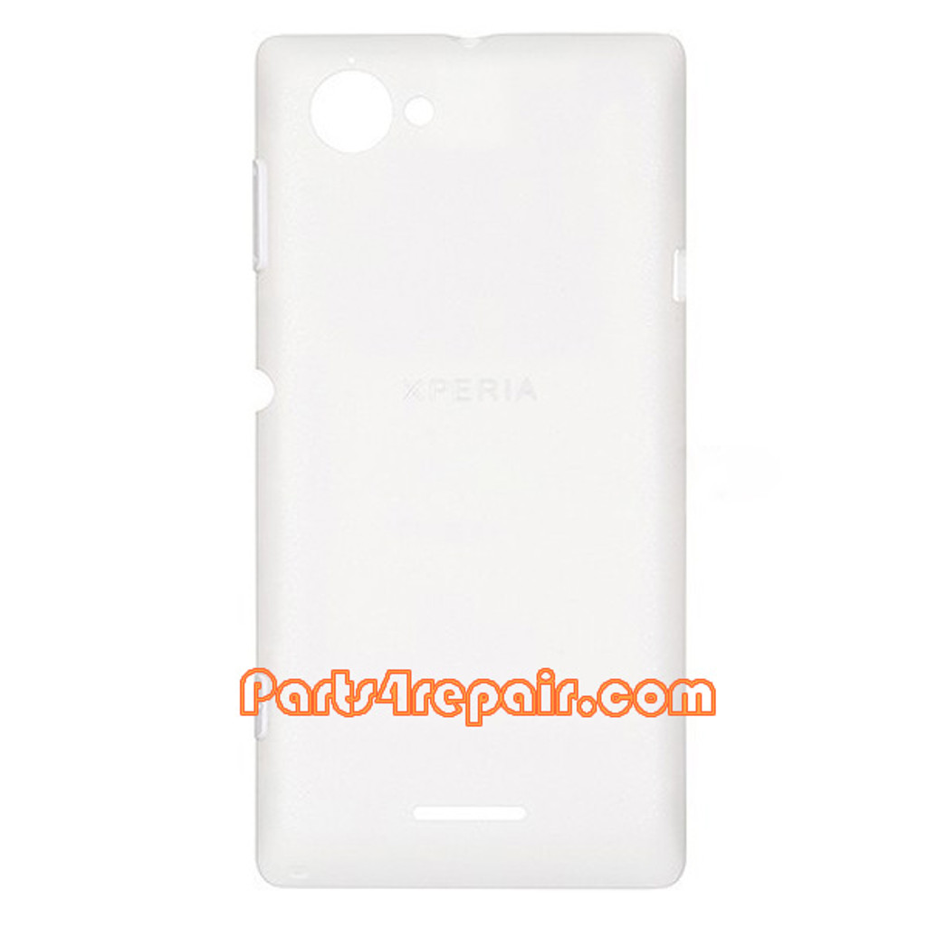 the best attitude ece8b ad02b Back Cover for Sony Xperia L S36H -White