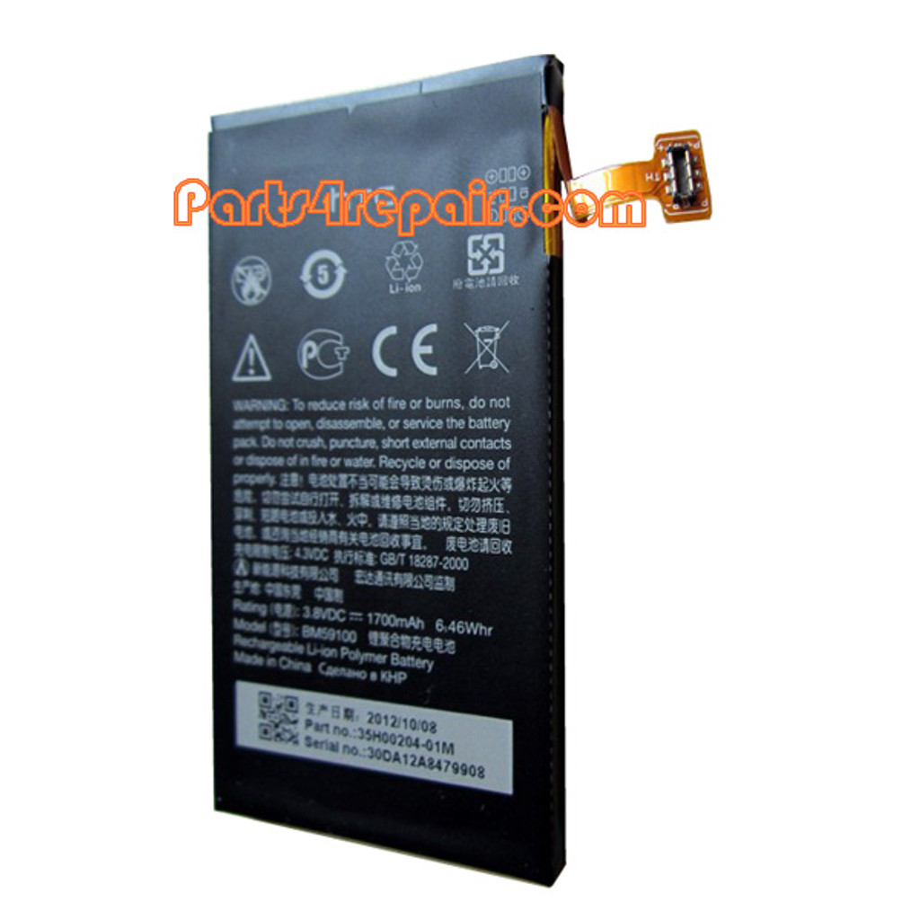 We can offer 1700mAh Built-in Battery for HTC Window Phone 8S