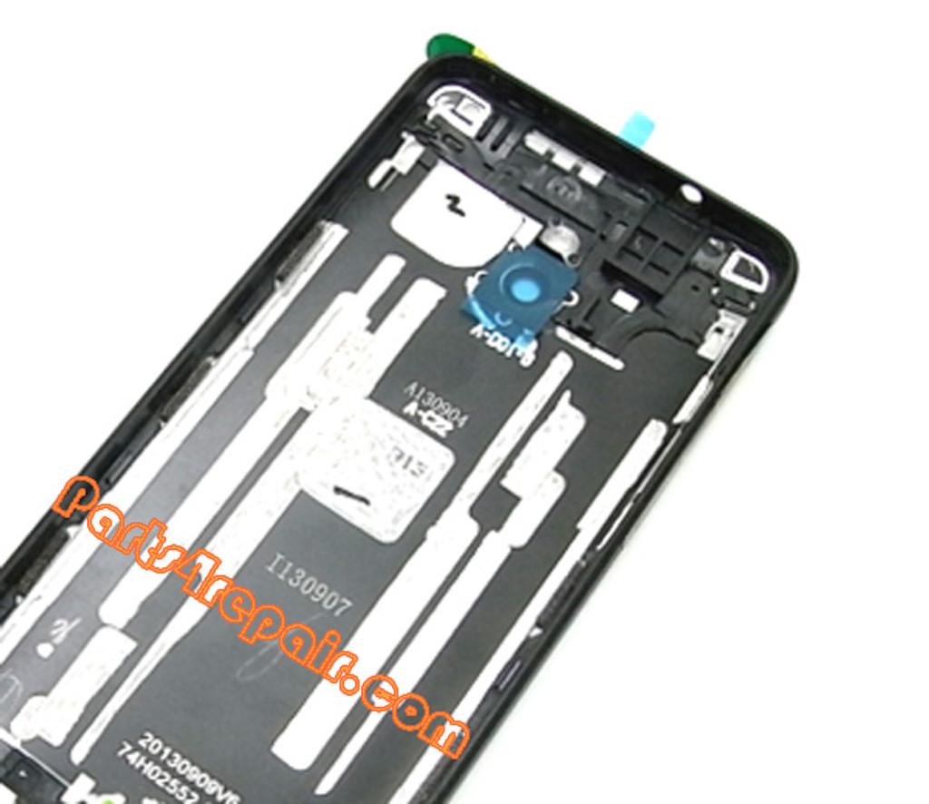 Back Cover for HTC One mini -Black (Refurbished)