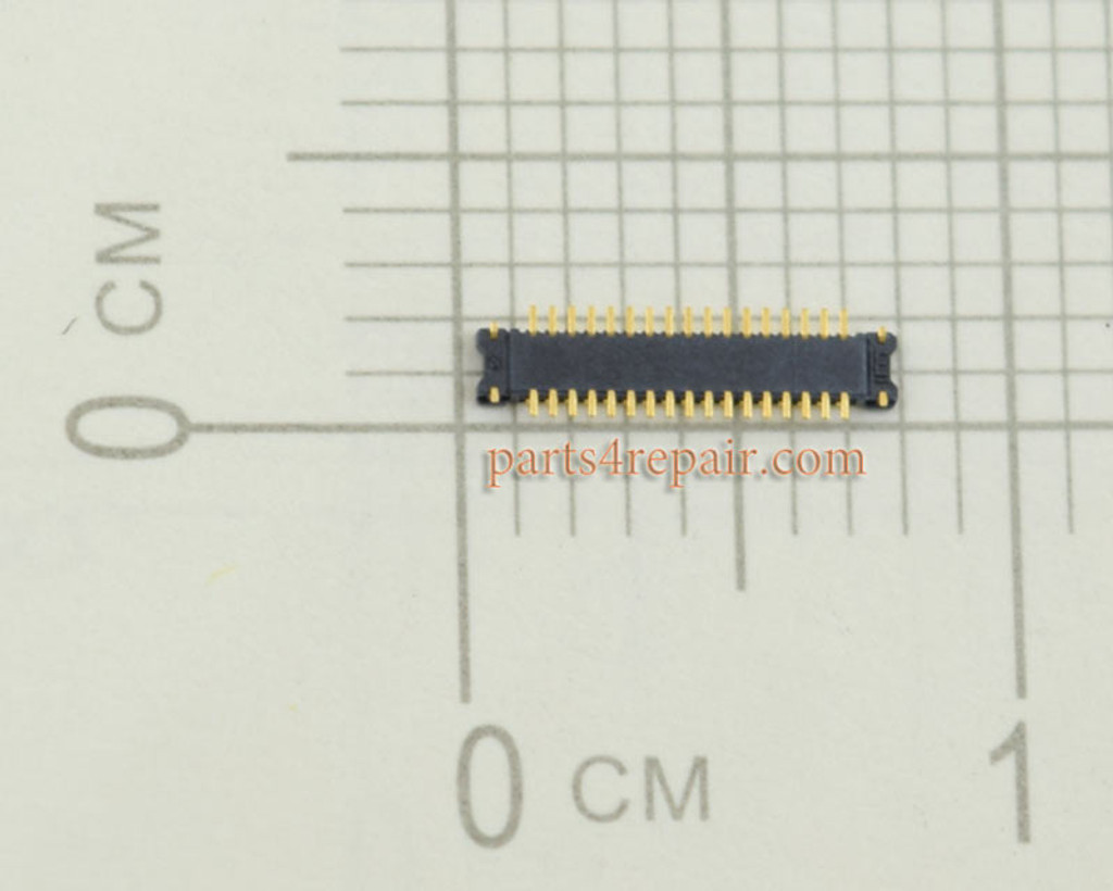 Back Camera FPC Connector for Samsung I9500 Galaxy S4 from www.parts4repair.com