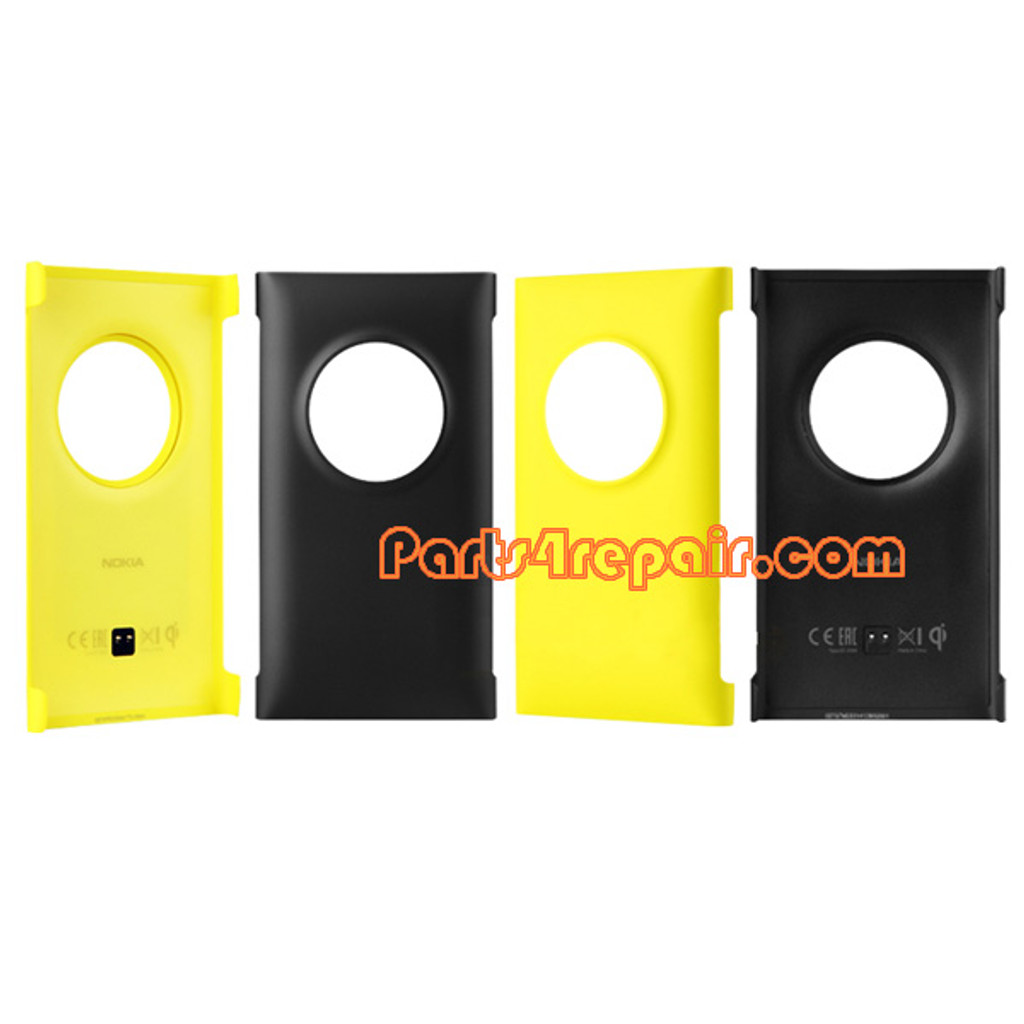 CC-3066 Wireless Charging Shell Cover Case for Nokia Lumia 1020 -Black