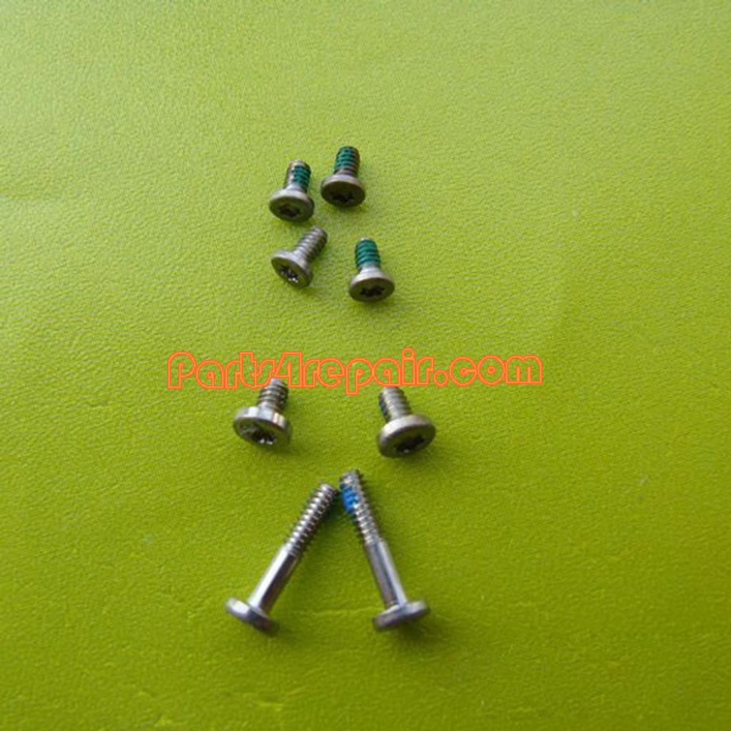 a full set of Screws for Nokia 8800 Arte Black from www.parts4repair.com