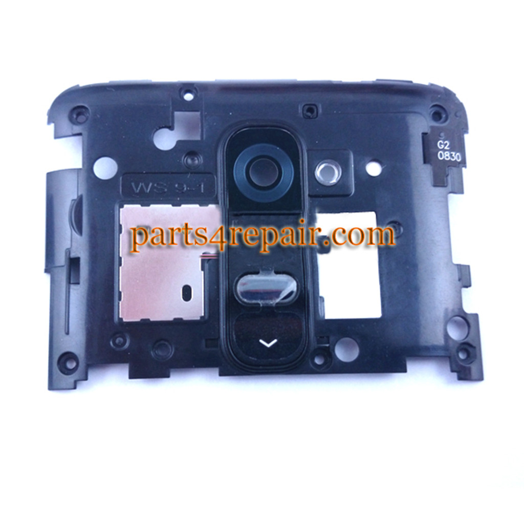 Camera Cover for LG G2 D802 D800 D803 -Black from www.parts4repair.com