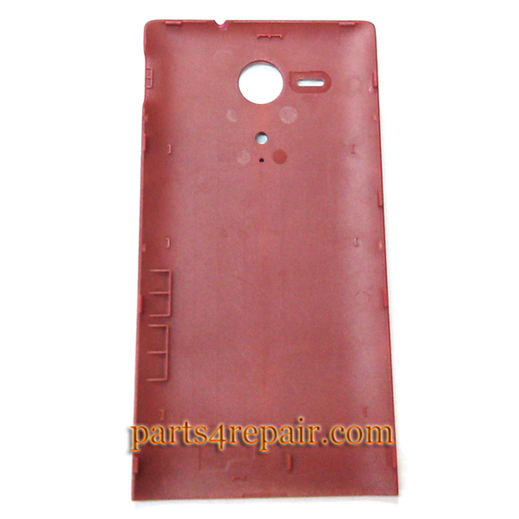 We can offer Back Cover for Sony Xperia SP m35h -Red