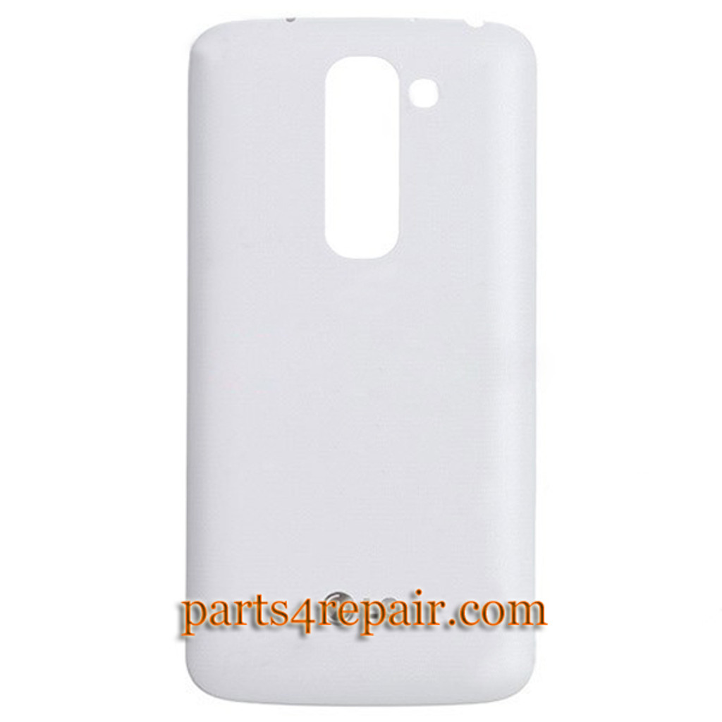 Back Cover with NFC for LG G2 mini -White from www.parts4repair.com