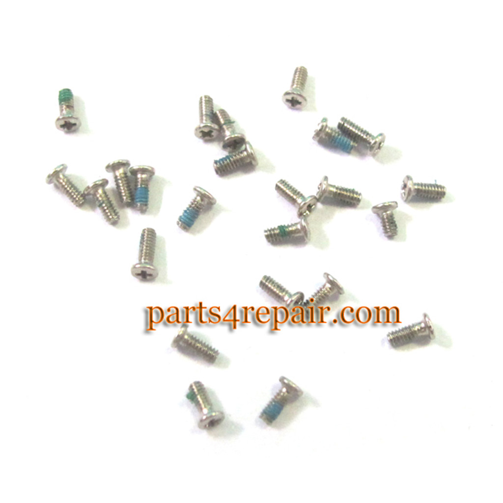 10pcs Screws for Samsung N7100 I9500 from www.parts4repair.com
