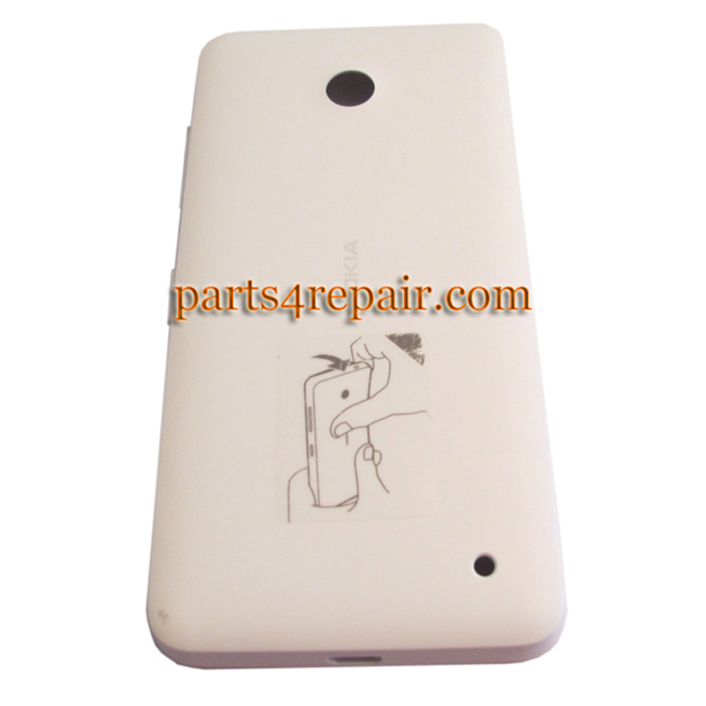 Back Cover for Nokia Lumia 630 -White